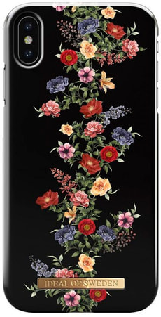 Hard Cover Dark Floral