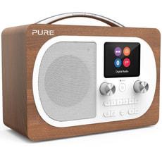Pure Evoke H4 Digitalradio walnuss