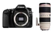 EOS 80D + EF 70-200mm 2.8L