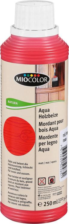 Aqua Holzbeize Rot 250 ml