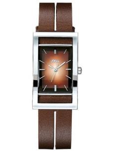 L- s.Oliver ETHNO brun montre