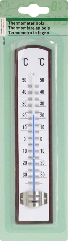Termometro in legno