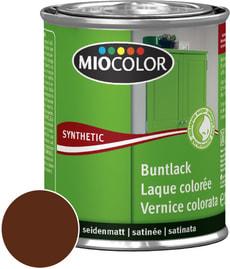 Synthetic Buntlack seidenmatt Schokobraun 375 ml