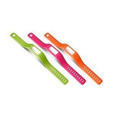 Vivofit Armbänder, Small, grün/pink/orange