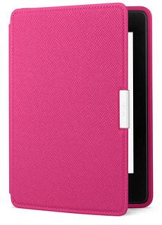 Fodero in pelle per eReader Kindle Paperwhite, pink (5a e 6a generazione)