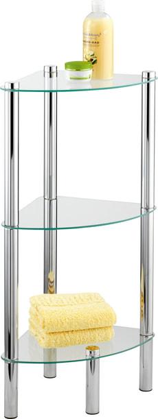 Etagère d'angle de sdb Yago 3 étages
