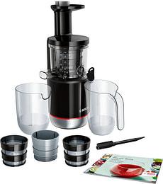 Slow Juicer VitaExtract noir / inox brossé MESM731M