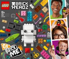 Lego BRICKHEADZ 41597 LA FABRICK À SELFI
