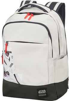 Star Wars Laptop Backpack - Stormtrooper Geometric