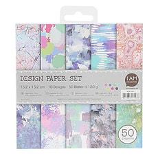 Paper Set V,15.2X15.2CM, 50 Blatt