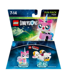 "LEGO Dimensions Fun Pack LEGO Movie ""Unikitty"""