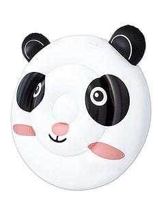 Schwimmender Panda gross
