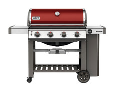 Grill a gas GENESIS II E-410 Crimson Red