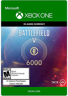 Xbox One - Battlefield V Currency 6000