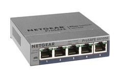 GS105E-200PES 5-Port ProSAFE Gigabit Plus Switch