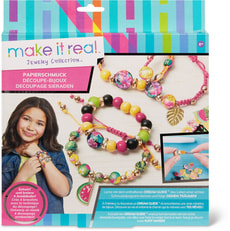 Make it Real Decoupage Jewelery
