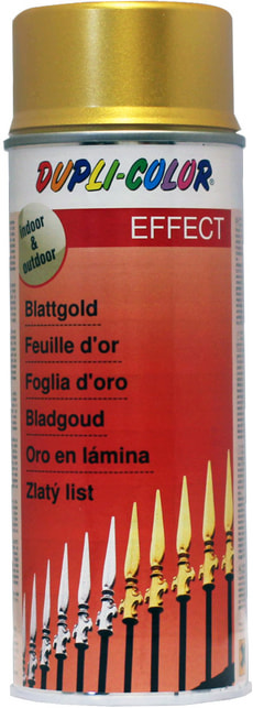 Blattgold Spray