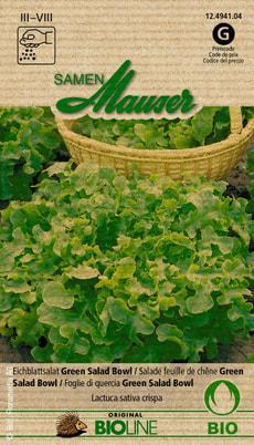 Salade Feuille de Chéne Green Salad Bowl bio