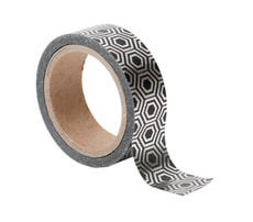 Washi Tape, Beehive, Silver
