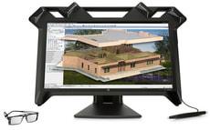 "Zvr Virtual Reality 24"" Monitor"