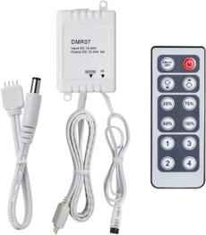 Controleur YourLED Dimm/Switch 12V DC avec télécommande IR plastique