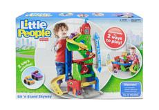Little People Nuovo Pista Grattacielo