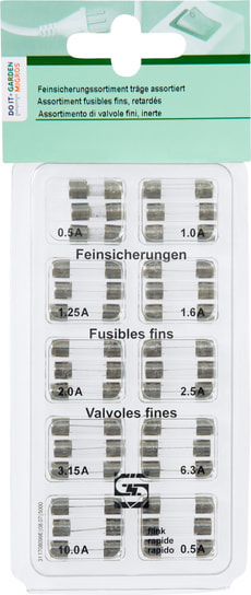 Feinsicherungssortiment assortiert