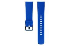 Galaxy Watch (42 mm) Silicone Band 20 mm bleu