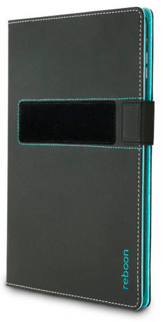 Etui Booncover M Universal gris