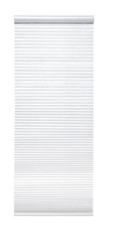 PLISSEE-DUPLEX_60x160cm_weiss