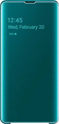 Clear view Cover Green