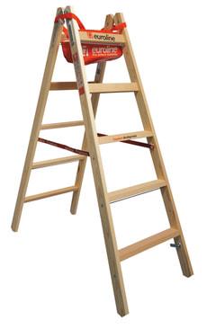Scala doppia in legno