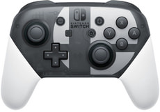 Switch Pro Controlle Super Smash Bros.