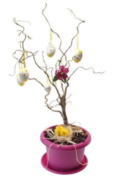 Osterbaum dekoriert 19cm
