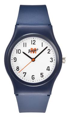 Armbanduhr blau / weiss