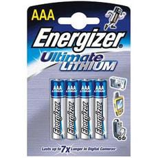 L- ENERGIZER LITHIUM AAA/L92 4 STK.