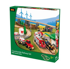 W13 BRIO COUNTRYSIDE RAILWAY SET