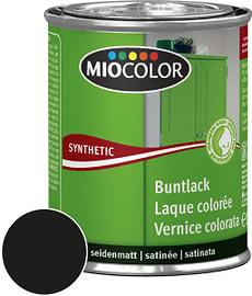 Synthetic Buntlack seidenmatt Schwarz 125 ml