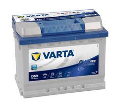 Batterie voiture Blue Dynamic EFB 560500056 60Ah H5