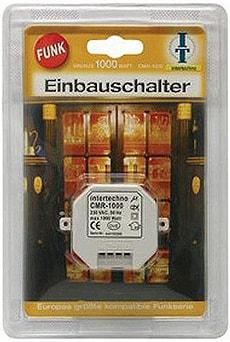 FUNK EINBAUSCHALTER KOMFORT 1000 W WEISS