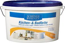 Peinture pour cuisine et salle de bain Blanc 5 l