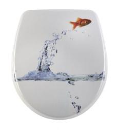 Siège de WC Nice Jumping Fish