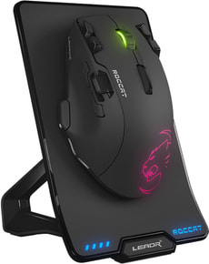 Leadr Wireless MultiButton RGB Gaming Mouse noir