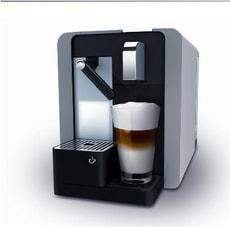Caffè Latte Kapselmaschine Titan silver