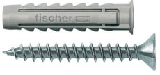 Tampon nylon SX 8 x 40 avec vis