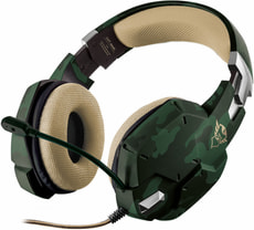 GXT 322C Gaming Headset grün camouflage