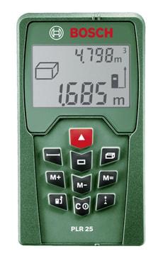 Laser-Entfernungsmesser PLR 25
