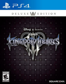 PS4 - Kingdom Hearts 3 Deluxe Edition (D)