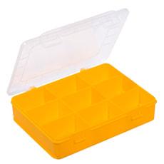 Boîtes d'assortiment, 9 compartiments, PP