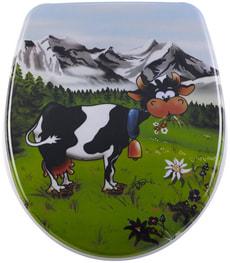 Siège de WC Nice Cow